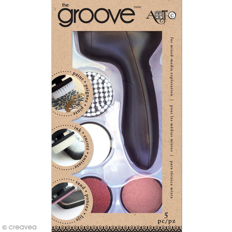 Outil Mixed Media - Kit The Groove - Photo n°1