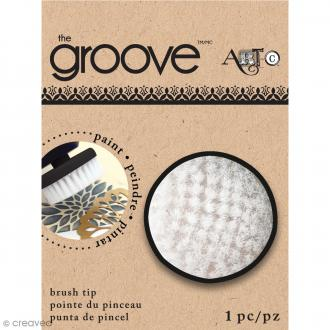 Pointe brosse pour outil The Groove