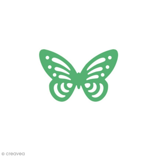 Perforatrice Pop Up 3D Papillon - 3,5 x 2,3 cm - Photo n°2