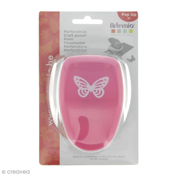 Perforatrice Pop Up 3D Papillon - 3,5 x 2,3 cm - Photo n°1