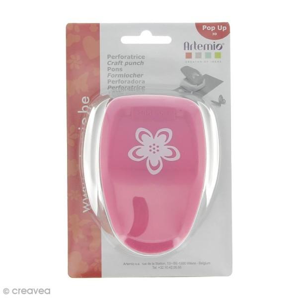 Perforatrice Pop Up 3D Fleur - 3 cm - Photo n°1