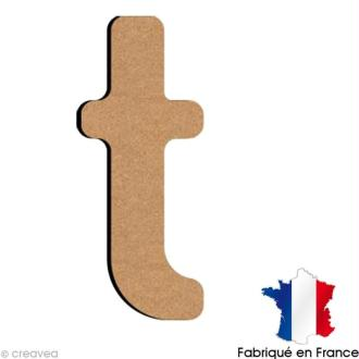 Lettre minuscule en bois T 5 cm