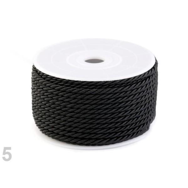 20m Noir corde / Chaîne de Ø3mm, les Cordons des Stores Et des Chaînes, Mercerie, - Photo n°1
