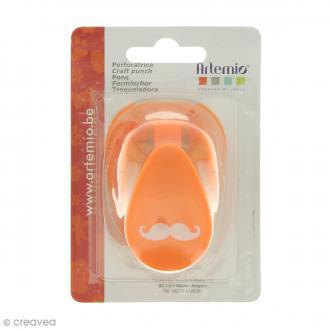 Perforatrice Moustache - 2,4 x 0,7 cm