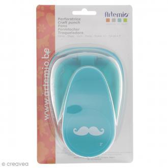 Perforatrice Moustache - 4 x 1 cm
