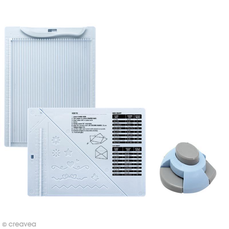 Kit de création enveloppe et carte avec perforatrice Artemio - 3 pcs - Photo n°2