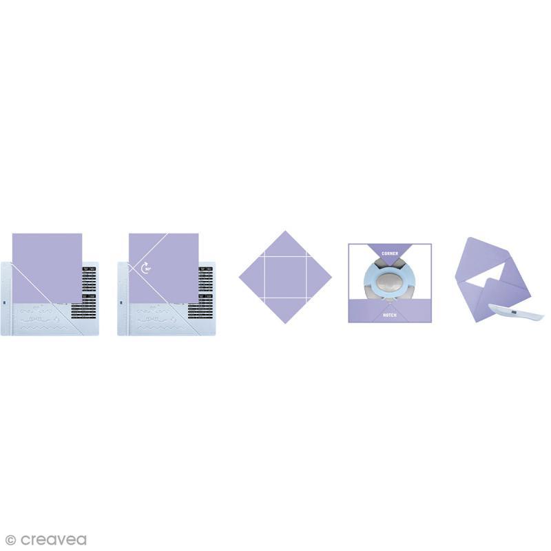 Kit de création enveloppe et carte avec perforatrice Artemio - 3 pcs - Photo n°5