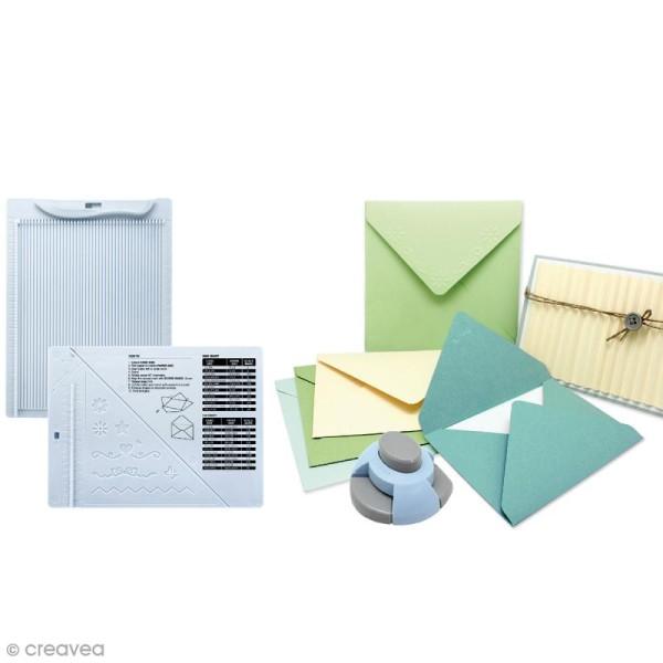 Kit de création enveloppe et carte avec perforatrice Artemio - 3 pcs - Photo n°3