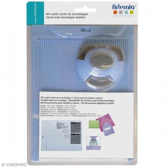 Kit de création enveloppe et carte avec perforatrice Artemio - 3 pcs