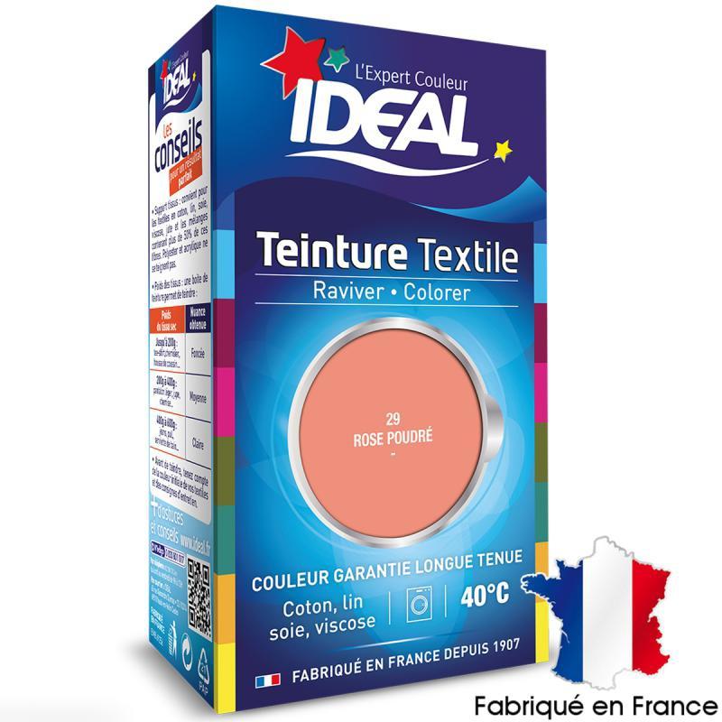 Teinture tissu id al liquide rose poudr 29 mini teinture coton creavea - Teinture textile noir ...