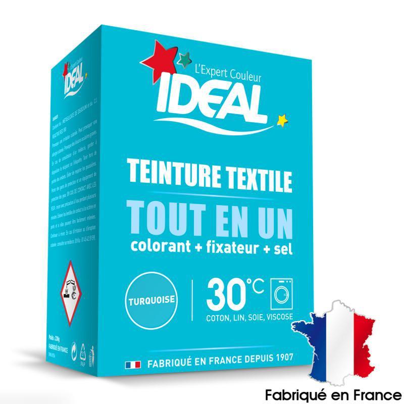 Kit complet teinture Ideal Tout en Un - Mini turquoise - 230 gr - Photo n°1