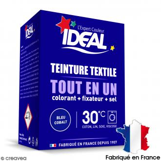 kit complet teinture ideal tout en un mini bleu cobalt 230 gr - Colorant Vetement
