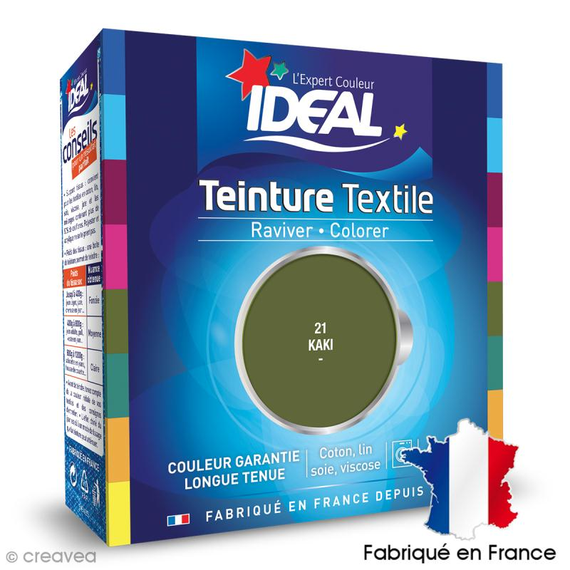 Teinture Tissu Idéal liquide kaki 21 maxi - Photo n°1