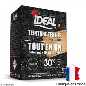 Kit complet teinture Ideal Tout en Un - Maxi jean noir - 350 gr