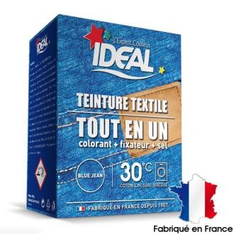 kit complet teinture ideal tout en un maxi bleu jean 350 gr - Colorant Vetement