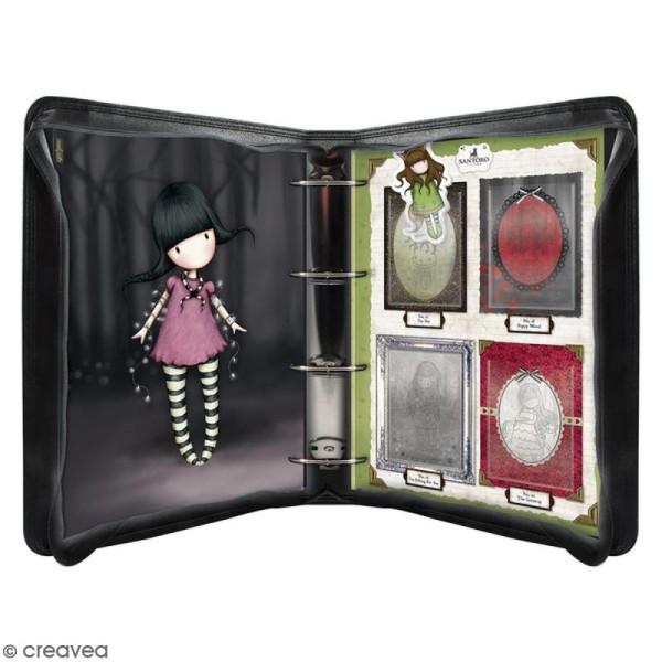 Mini tampon cling Gorjuss - N° 4 - Forget me not - Photo n°2