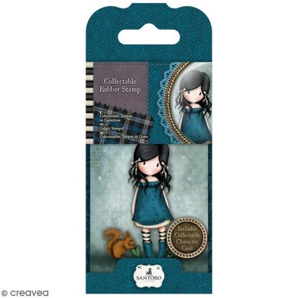 Mini tampon cling Gorjuss - N° 11 - You brought me love - Photo n°1