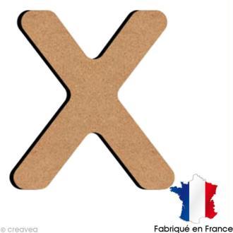 Lettre minuscule en bois X 5 cm