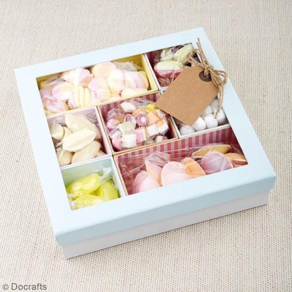 Shadow box à décorer - 30 x 30 cm - 10 cases - Photo n°4