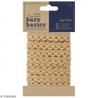 Cordon Jute - Galon Trim - 7 mm x 2 mm