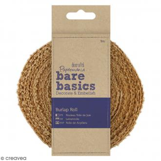 Ruban en jute - Bare basics - 30 mm x 9 mètres