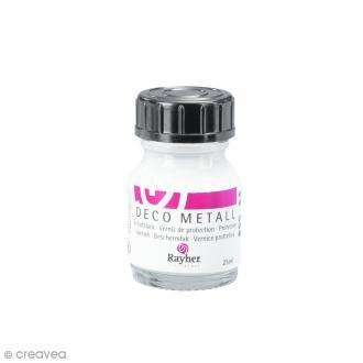 Vernis de protection Déco Métal - 25 ml