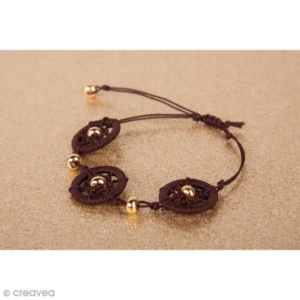 Cercles pour bijoux attrape-rêves - Argenté - 15 mm - 4 pcs - Photo n°3