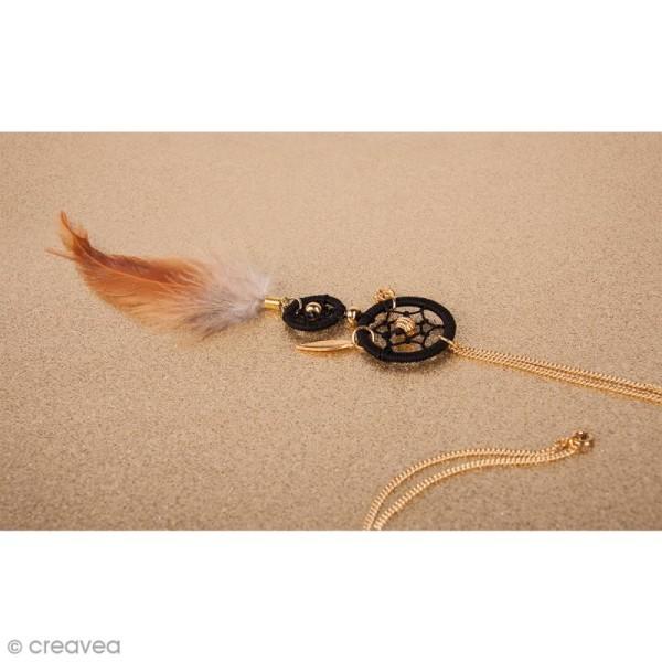 Cercles pour bijoux attrape-rêves - Argenté - 25 mm - 2 pcs - Photo n°2