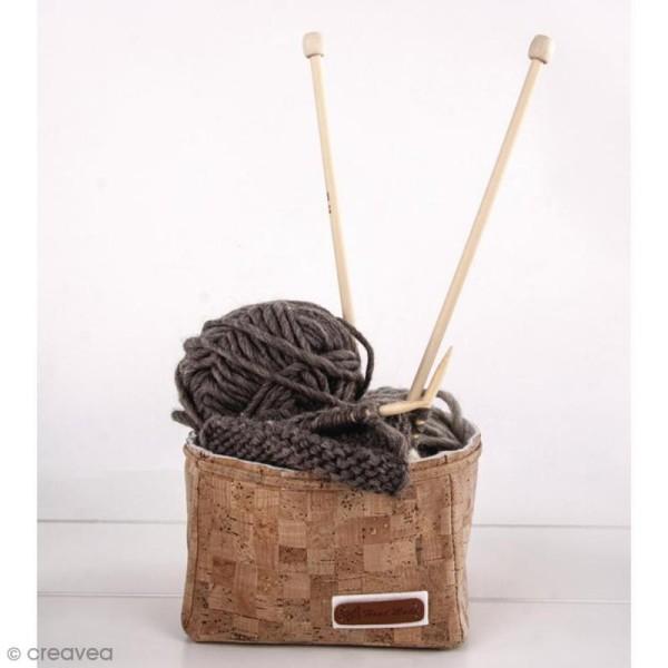 Etiquettes à coudre - Simili cuir - Handmade - 49 x 15 mm - 3 pcs - Photo n°2