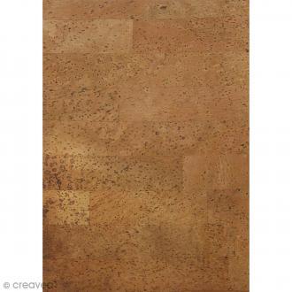 Papier de liège autocollant - 20,5 x 28 cm