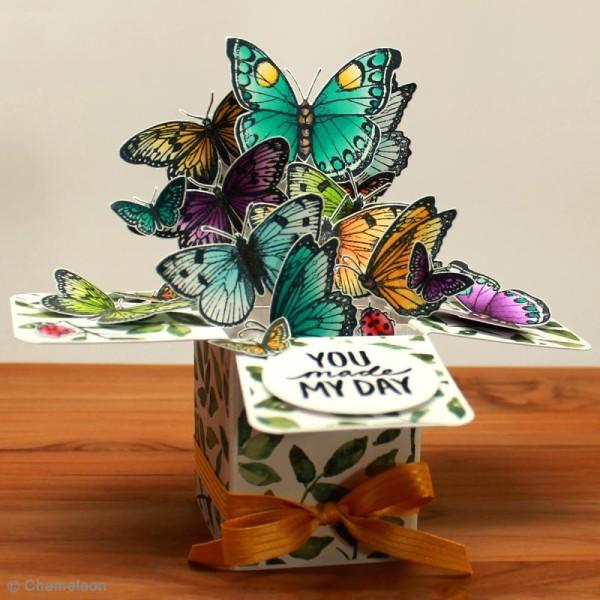 Coffret marqueurs Chameleon - Cool - 5 feutres - Photo n°4