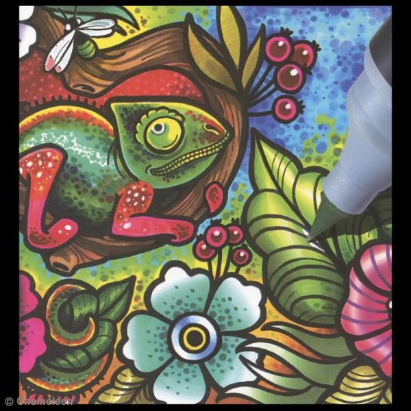 Coffret marqueurs Chameleon - Cool - 5 feutres - Photo n°6
