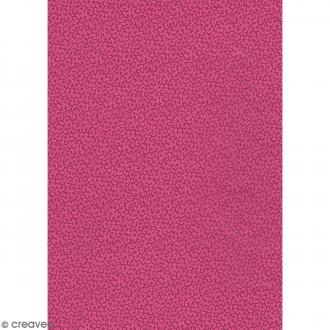 Décopatch Rose fuchsia N° 710 - 1 feuille