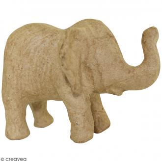 Elephanteau à décorer - 11 x 8 x 8 cm