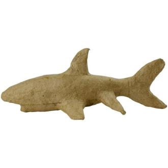 Requin à décorer - 18 x 7,5 x 6 cm