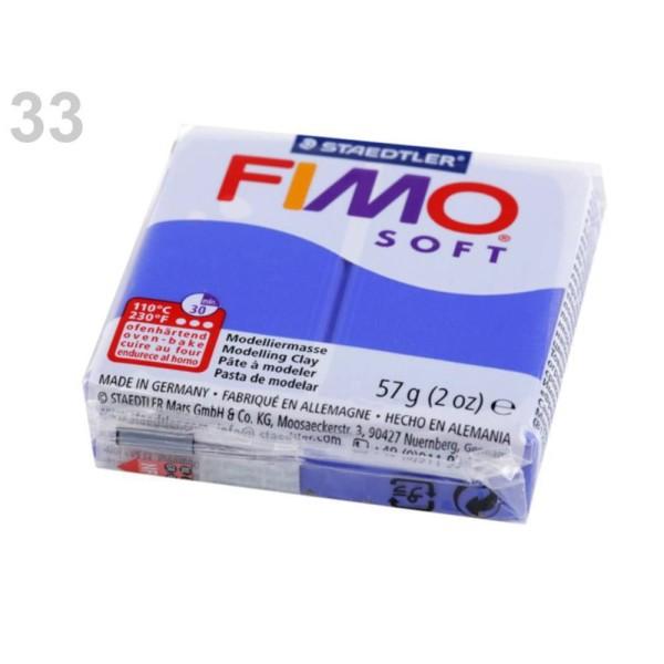 1pc Roi Bleu FIMO Polymère pâte à modeler 57 octies, Doux, -, de l'Artisanat et Loisirs - Photo n°1