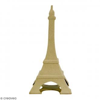 Tour Eiffel à décorer - 22 x 11 cm