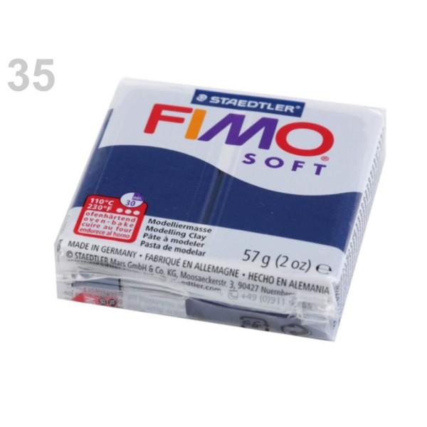 1pc Paris Bleu FIMO Polymère pâte à modeler 57 octies, Doux, -, de l'Artisanat et Loisirs - Photo n°1