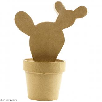 Cactus à décorer - 9 x 14 x 20 cm