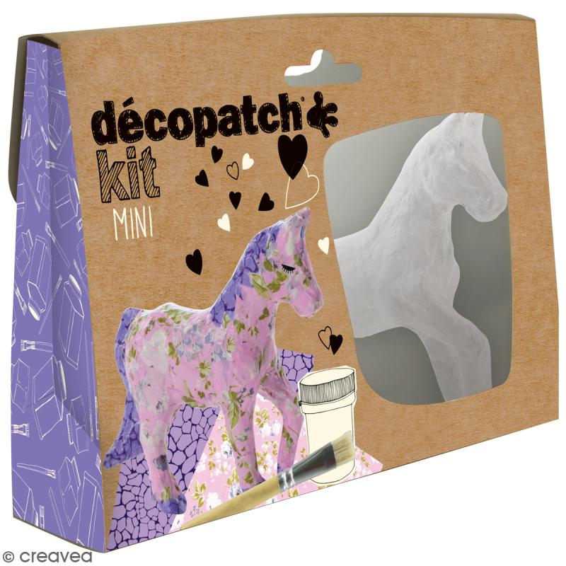Mini kit créatif Welcome Décopatch - Cheval - Photo n°1
