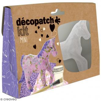 Mini kit créatif Welcome Décopatch - Cheval