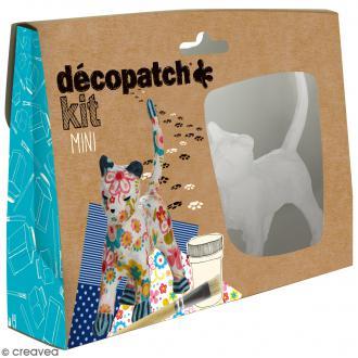 Mini kit créatif Welcome Décopatch - Chat