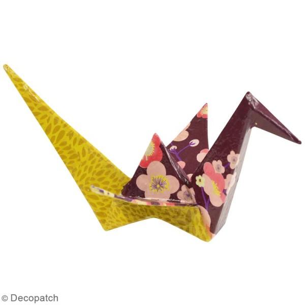 Grue origami à décorer - 41 x 23 x 7 cm - Photo n°2