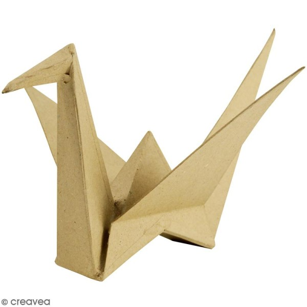 Grue origami à décorer - 41 x 23 x 7 cm - Photo n°1