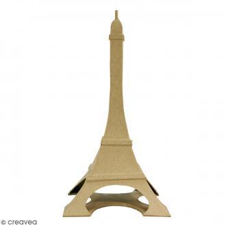 Tour Eiffel à décorer - 32 x 17 cm
