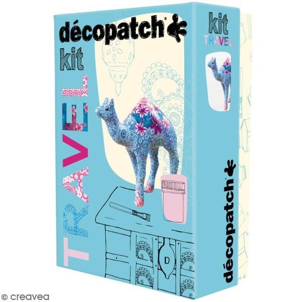 Kit créatif Décopatch - Travel (dromadaire) - Photo n°1