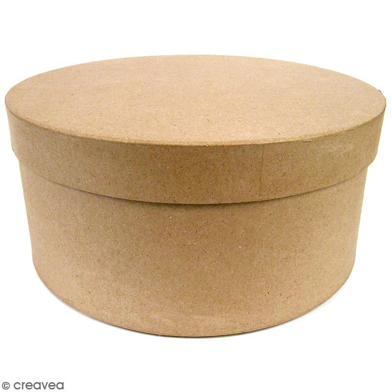 Boîtes Rondes Chapeau à décorer - 33 x 16 cm - 3 pcs - Photo n°1