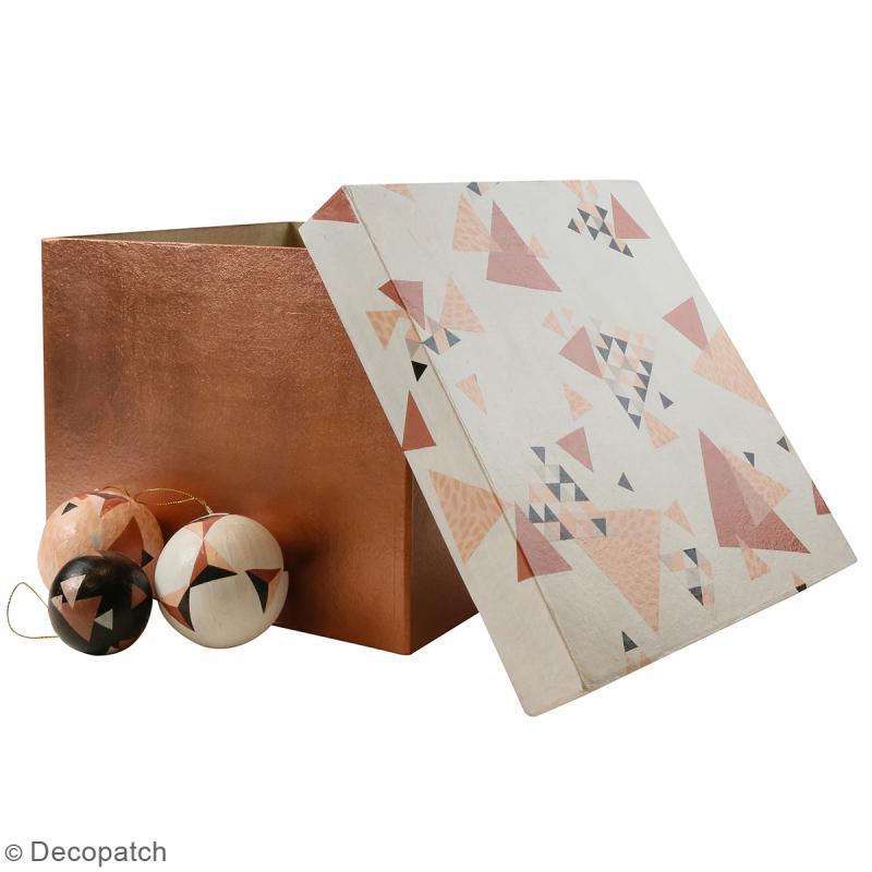 Boîtes carrées à décorer - 25 x 20 cm - 4 pcs - Photo n°3