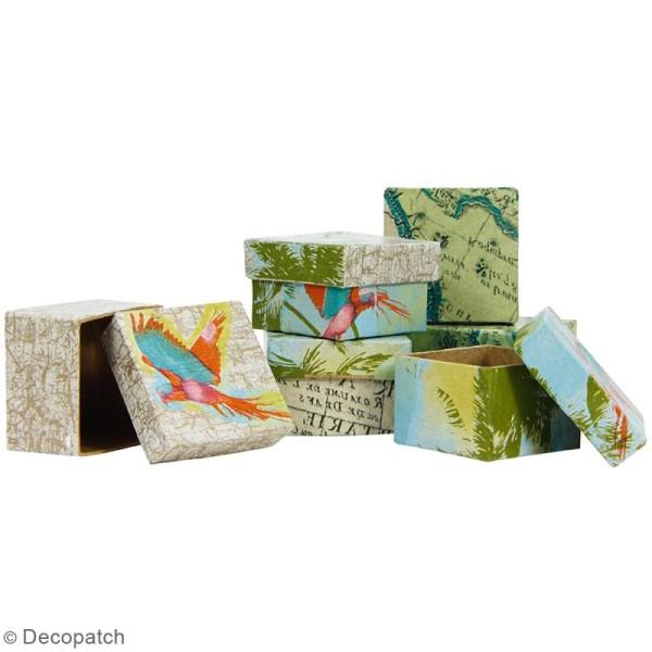 Boîtes carrées à décorer - 25 x 20 cm - 4 pcs - Photo n°2