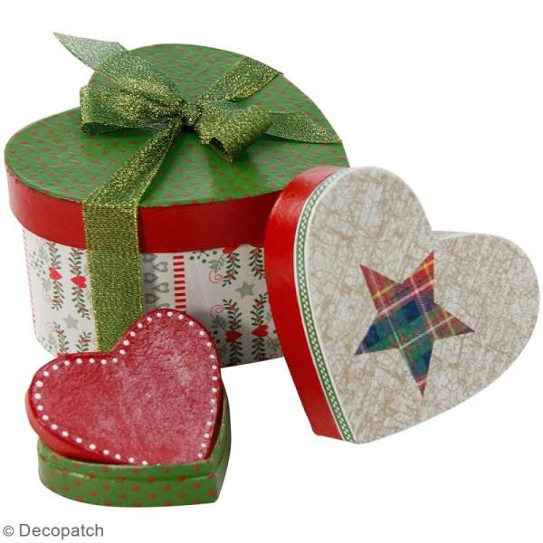 Boîtes coeurs gigognes à décorer - 29 x 23 cm - 3 pcs - Photo n°4